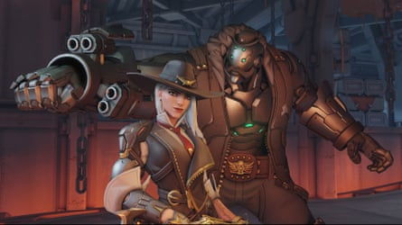Ashe, a New character in the Overwatch video game