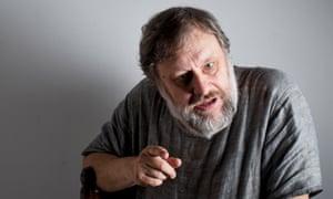 Slavoj Žižek: writing that 'tickles the brain'.
