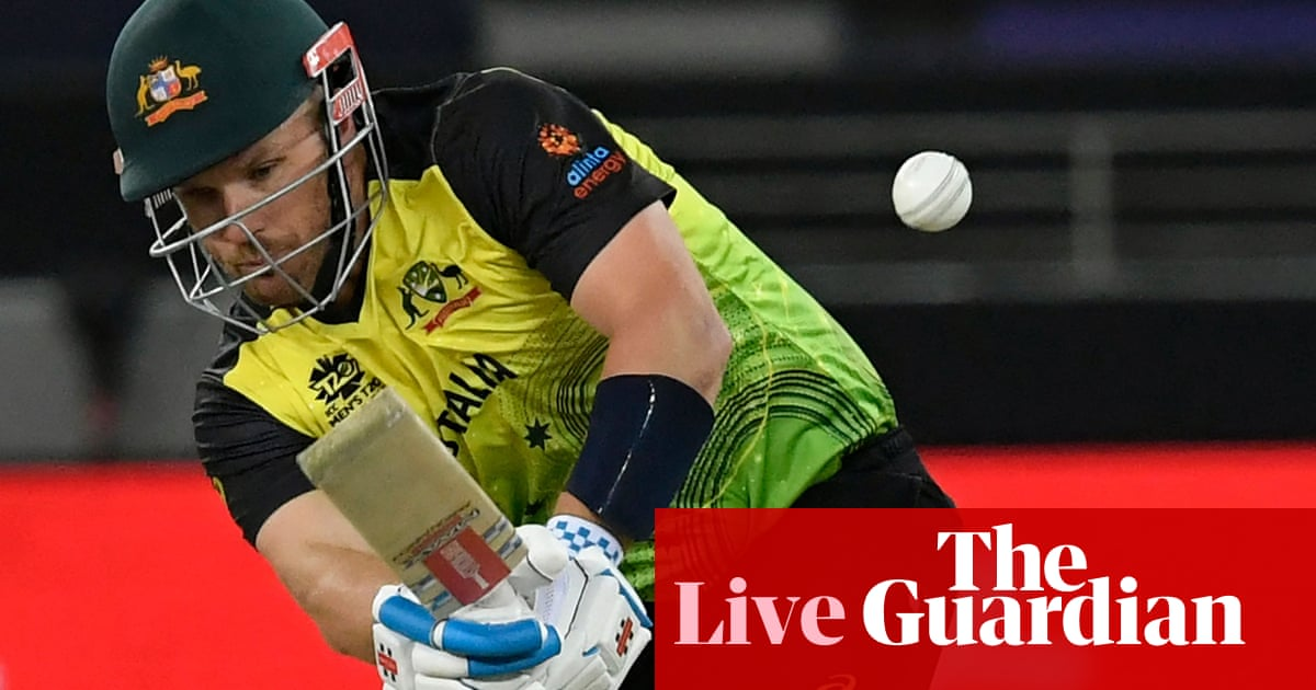 Sri Lanka set Australia target of 155: T20 World Cup – live!