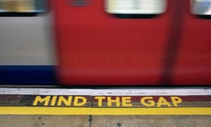 Embankment's 'Mind the Gap' announcement was recorded more than 45 years ago.