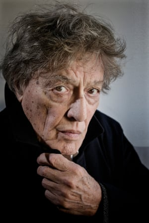 Playwright Tom Stoppard.
