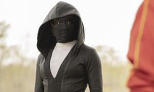 Regina King in a scene from Watchmen.