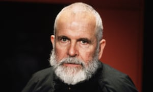 Actor Ian Holm plays in King Lear at the National Theatre in 1997.