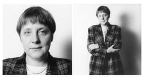 Angela Merkel in 1993, when she was minister for women and young people.