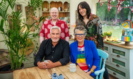 The judges on the new series of the Great British Bake Off