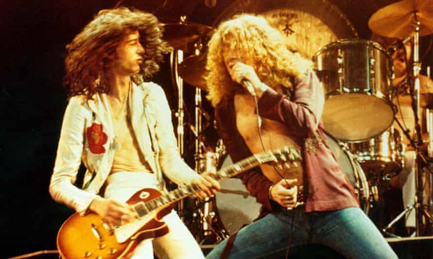 Making it up on the spot … Led Zeppelin.