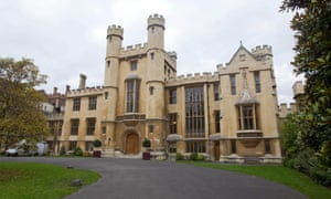 The archbishop of Canterbury welcomed a family to live at Lambeth Palace. Only one other family has been welcomed under the scheme.