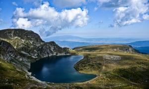 Rila mountain is home to the Seven Rila Lakes