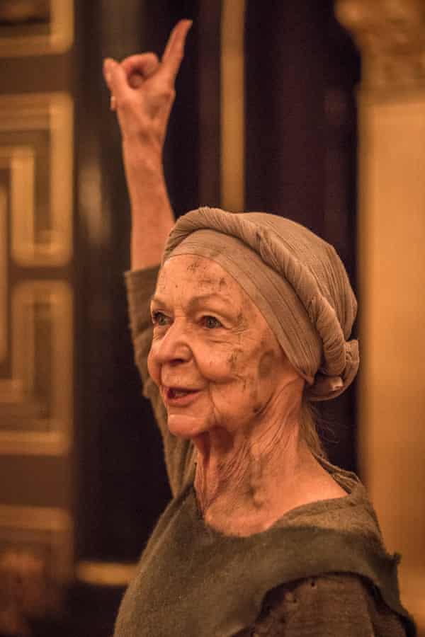 Fine work … Sheila Reid as the storytelling Gower.