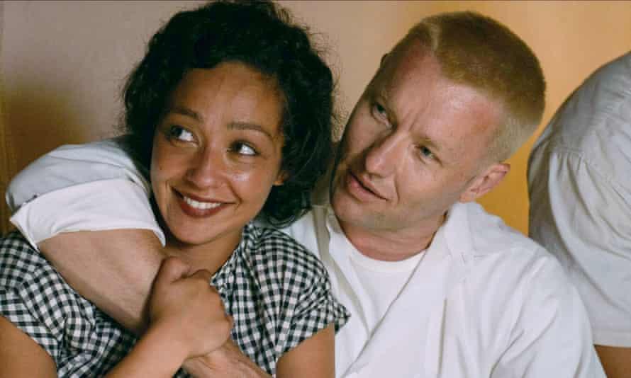 Ruth Negga with Joel Edgerton in Jeff Nichols's drama Loving.