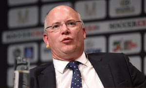 Shaun Harvey joined the Football League as chief executive in October 2013.