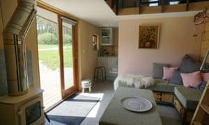 Tiny Homes living room, IoW
