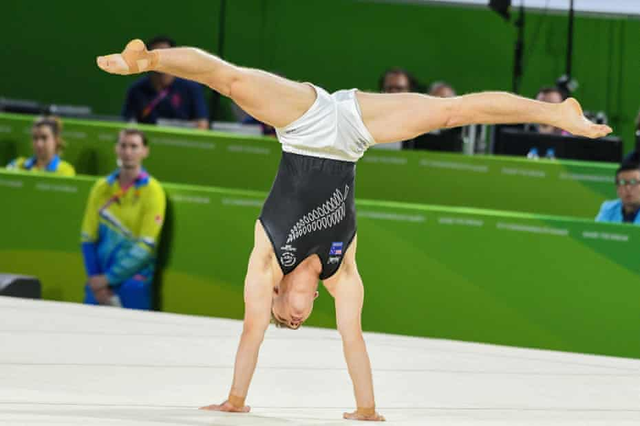 A gymnast from New Zealand
