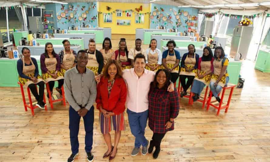 Die Juroren und Kandidaten für die kenianische Version der Show, die seit 2019 läuft.