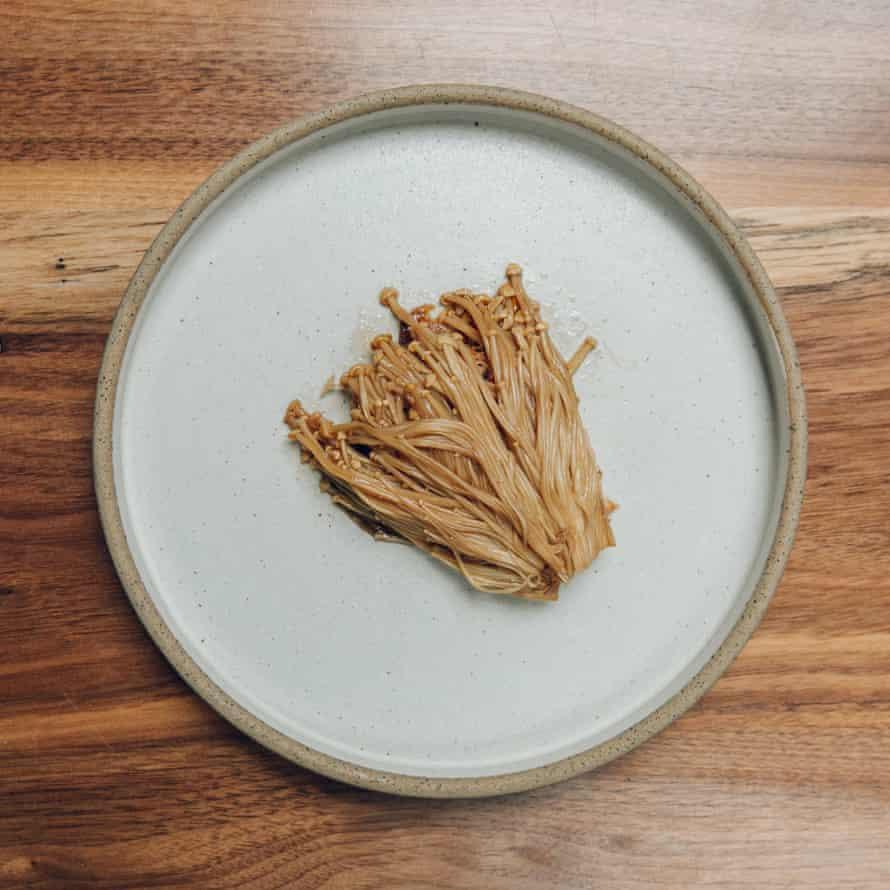 Alchemilla's enoki mushroom: 'Wonderfully odd.'