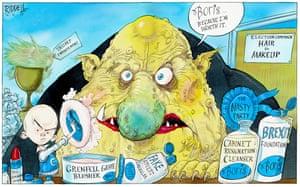 The Boris cosmetics collection.