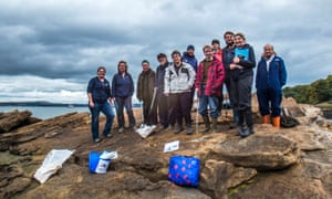 Volunteers taking part in the Marine Conservation Society's Great British Beach Clean event in September
