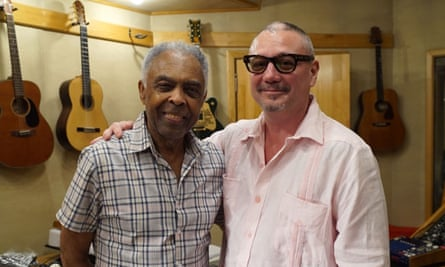 Huey Morgan with Gilberto Gil – in Huey Morgan's Latin Music Adventure.