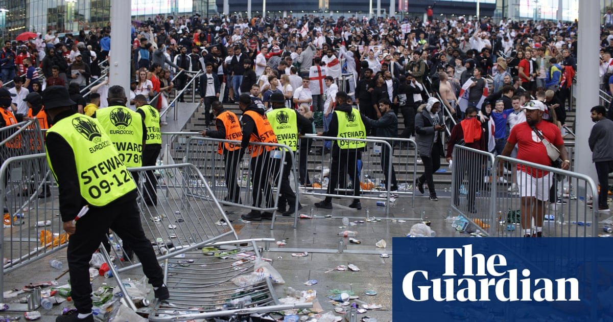 England hit with stadium fan ban for Wembley disorder