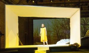 Expressive beauty … The Hunting Gun, or Das Jagdgewehr, featuring Iris van Wijnen as Saiko.