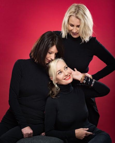 Keren, Siobhan and Sara in April 2017