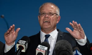Scott Morrison has been branded a 'fool' by Pauline Hanson, who warned his preference decision would put Labor, the Greens 'and the CFMEU' in power