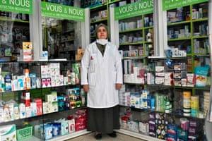 Algiers, Algeria : Nassiba Belgherbi, pharmacist