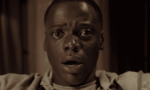 """""""It is one of the very, very few horror movies that does jump off of racial fears' ... Jordan Peele on his new film Get Out, which stars Daniel Kaluuya, above."""