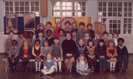 Year 3 school portrait projectHandout photo issued by Tate Britain of Steve McQueenÕs Year 3 class at Little Ealing Primary School in 1977. Artist Steve McQueen (middle row, fifth left) will embark on an ambitious contemporary art project to create a portrait of all of London's Year 3 school pupils. PRESS ASSOCIATION Photo. Issue date: Thursday September 6, 2018. See PA story ARTS Tate. Photo credit should read: Tate/PA Wire NOTE TO EDITORS: This handout photo may only be used in for editorial reporting purposes for the contemporaneous illustration of events, things or the people in the image or facts mentioned in the caption. Reuse of the picture may require further permission from the copyright holder.