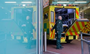 Pressure is rising on ambulance services as the NHS heads towards traditionally the most difficult period of the year.