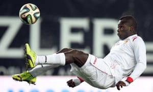 Emmanuel Frimpong in action for the Russian side Ufa where he spent two years.