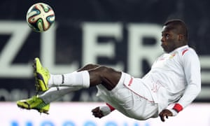 The former Arsenal player Emmanuel Frimpong has been banned for two matches