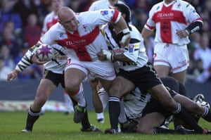 Paul Anderson recovered from his surgery and played for England at the Rugby League World Cup in 2000.