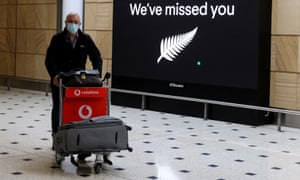 A passenger arrives into Sydney from New Zealand