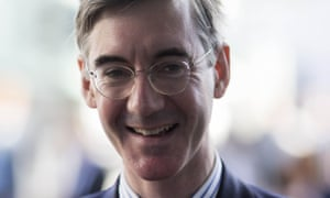 The Conservative MP Jacob Rees-Mogg