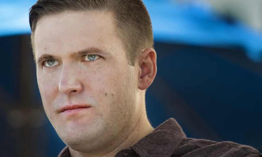 'Alt-right' leader Richard Spencer at the largest white nationalist conference of the year, which took place over the weekend.