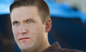 Face of hate. Richard Spencer at the DC conference.