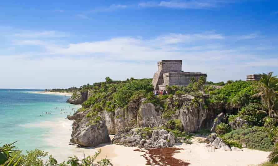 Mayan fortress near Tulum
