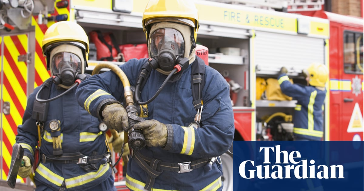 Elderly man found alive inside building five days after it burned down | US news | The Guardian