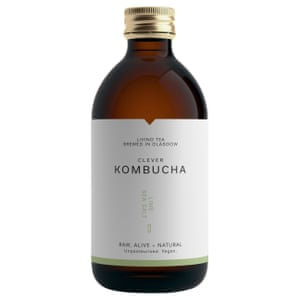 Clever Kombucha Lime sea salt