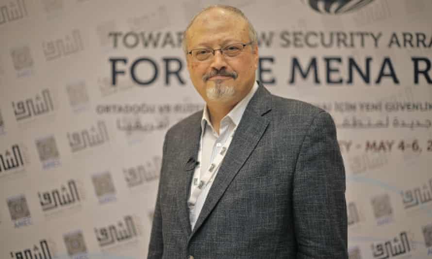 Jamal Khashoggi pictured in May 2018.