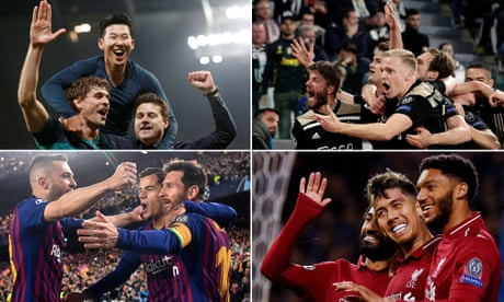Champions League semi-finals: how the ties shape up and could be decided   Sachin Nakrani