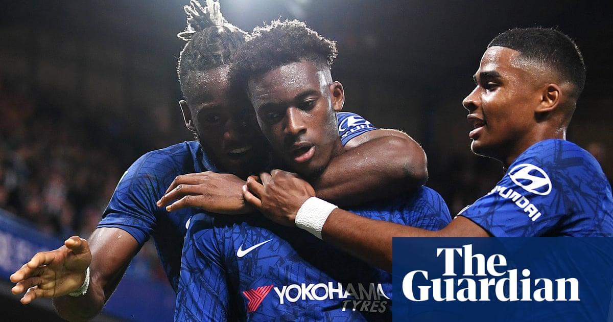 Hudson-Odoi scores on return to round off Chelsea's 7-1 romp against Grimsby