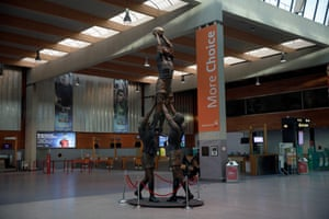 In the check-in hall of Shannon Airport stands a bronze sculpture called The Day That Changed Ireland, by Paddy Campbell, depicting Paul O'Connoll winning a lineout during the historic February 2007 Ireland v England Six Nations match at Croke Park, Dublin.