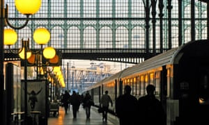 Paris Gare du Nord.
