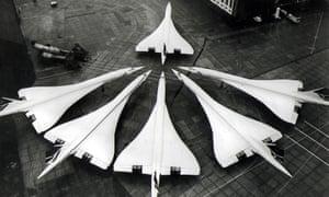 Concorde planes, 1976.