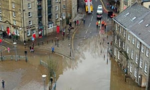 'Right fed up with it': floods in Lancaster.