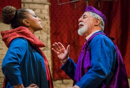 Angela Griffin and Barrie Rutter in The Captive Queen