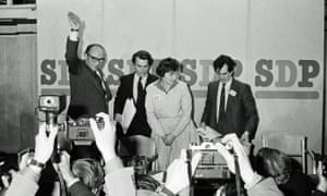 The launch of the SDP in March 1981