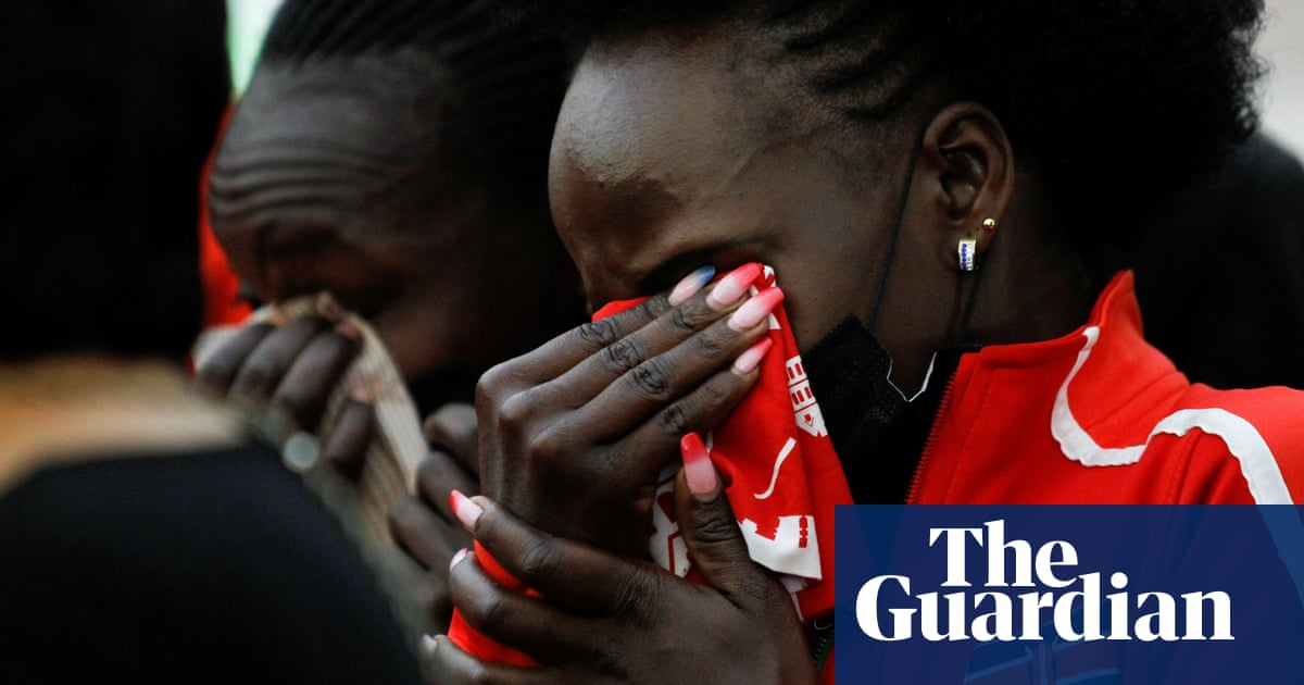 Agnes Tirop: Kenyan Olympian's funeral attended by over 1,000 mourners